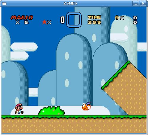 ZSNES Screenshot 3