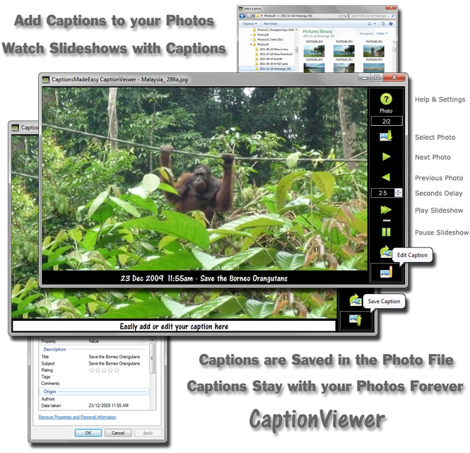 CaptionsMadeEasy CaptionViewer Screenshot