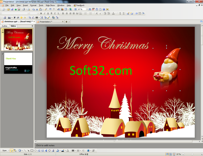Kingsoft Office Suite Free 2012 Screenshot