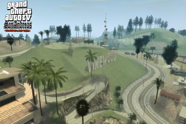 GTA IV San Andreas MOD Screenshot