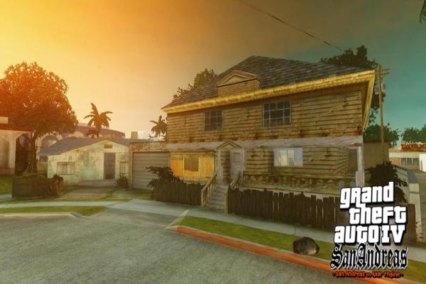 GTA IV San Andreas MOD Screenshot 2
