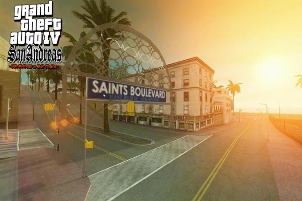 GTA IV San Andreas MOD Screenshot 3