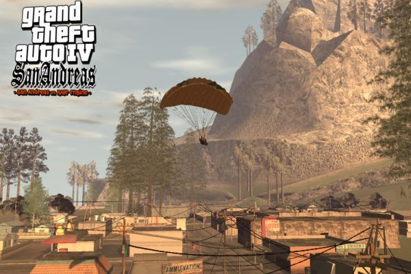 GTA IV San Andreas MOD Screenshot 4