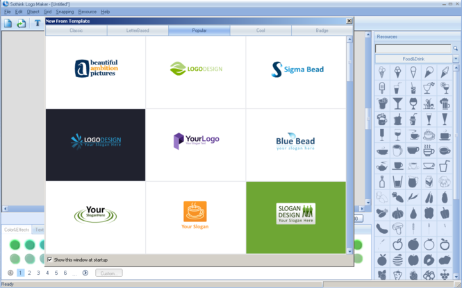 Sothink Logo Maker Professional Screenshot 3