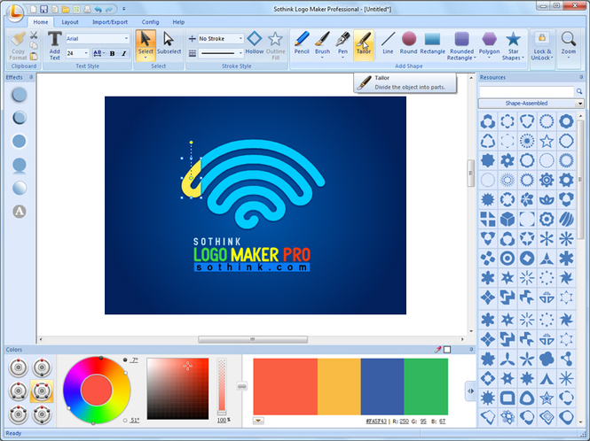 Sothink Logo Maker Professional Screenshot 1