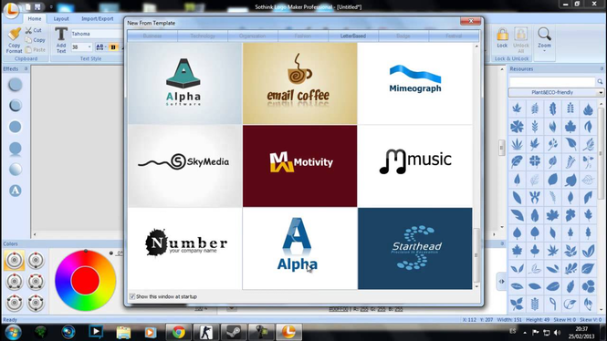Sothink Logo Maker Professional Screenshot 2