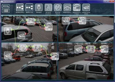 Xeoma Video Surveillance Software for Mac Screenshot