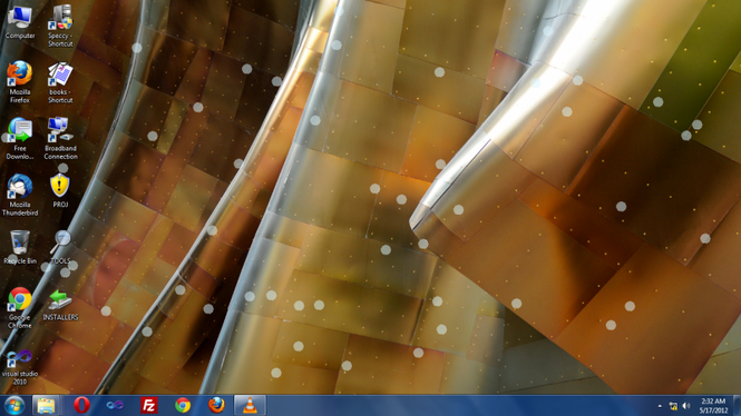 Bubbles at the Desktop Screenshot 1
