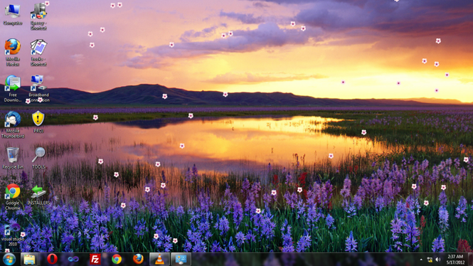 Spring at the Desktop Screenshot 1