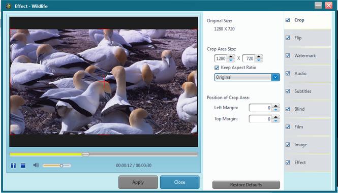 Free CUDA Video Converter Screenshot 2