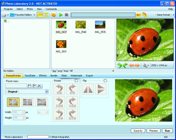 Photo Laboratory Screenshot