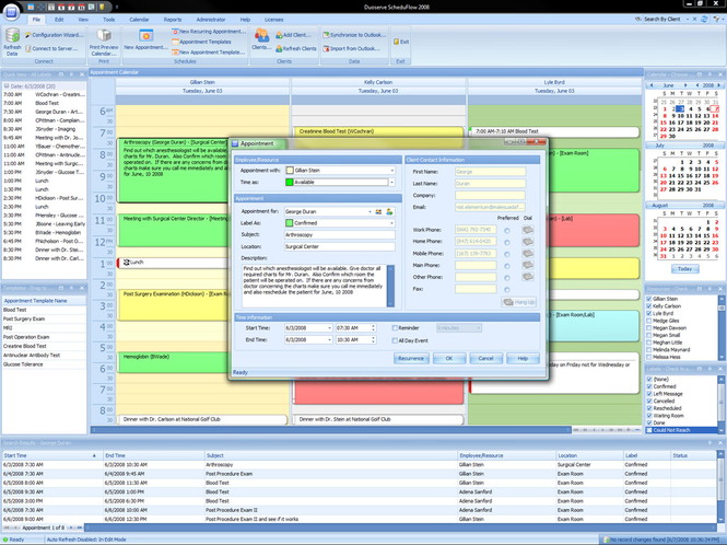 ScheduFlow Online Calendar Software Screenshot 1