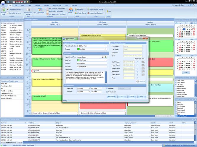 ScheduFlow Online Calendar Software Screenshot