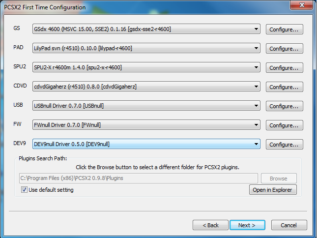PCSX2 Screenshot 1