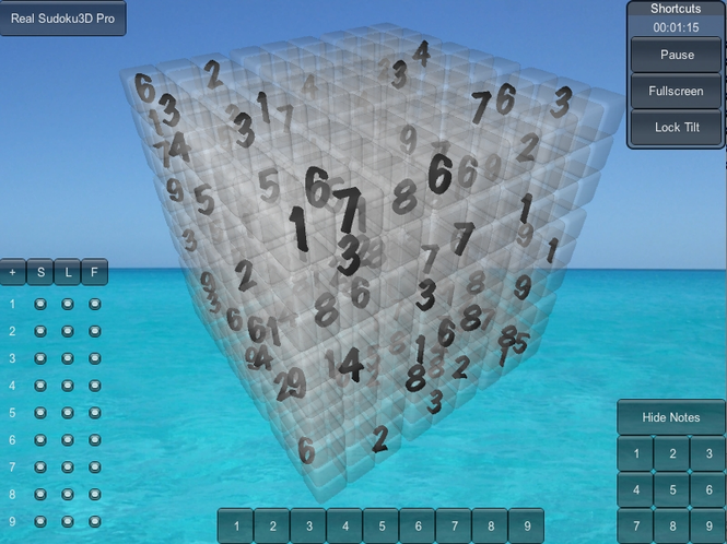 Real Sudoku3D Mac Screenshot