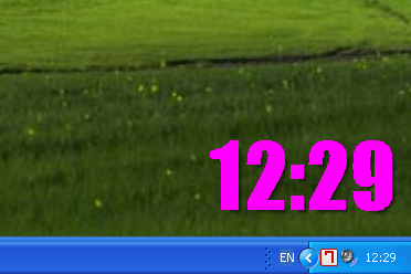 Font Clock-7 Screenshot