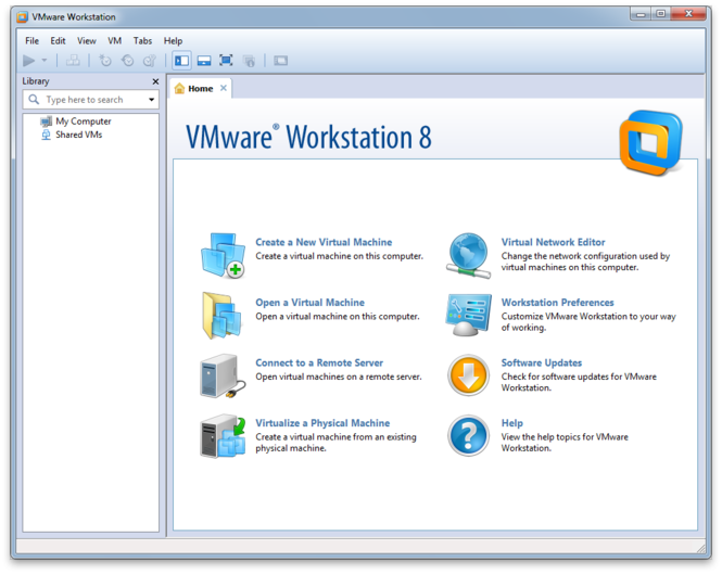 VMware Workstation Screenshot 1