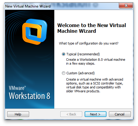VMware Workstation Screenshot 5