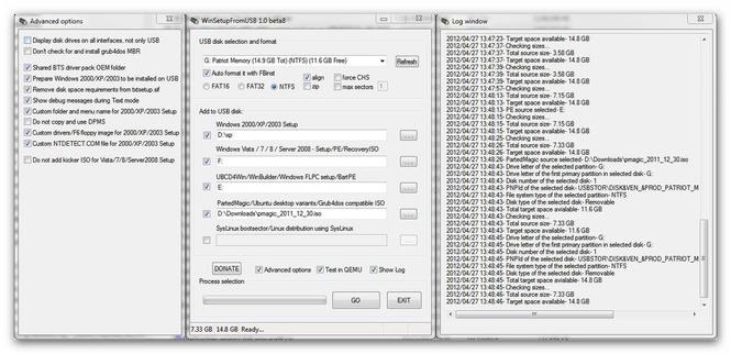 WinSetupFromUSB Screenshot 1
