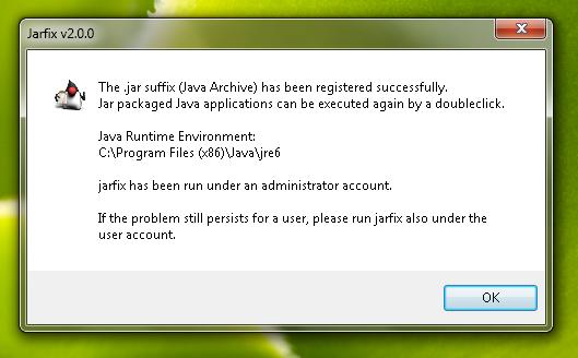 Jarfix Screenshot 2