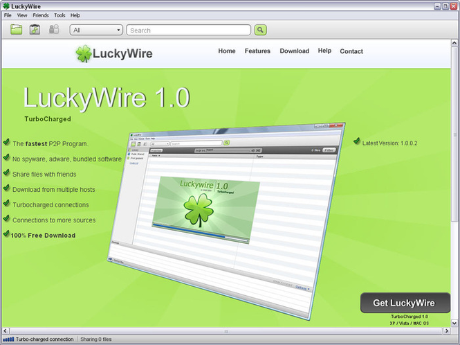LuckyWire Screenshot 2