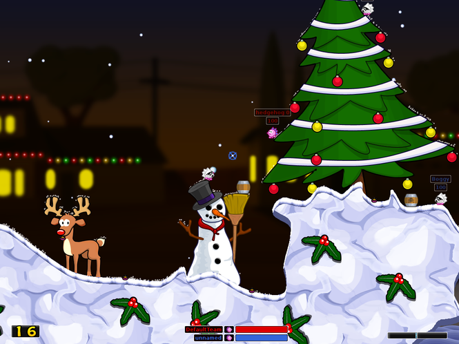 Hedgewars Screenshot 1