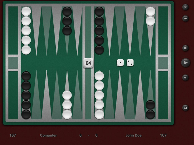 Backgammon Classic Pro Screenshot 1