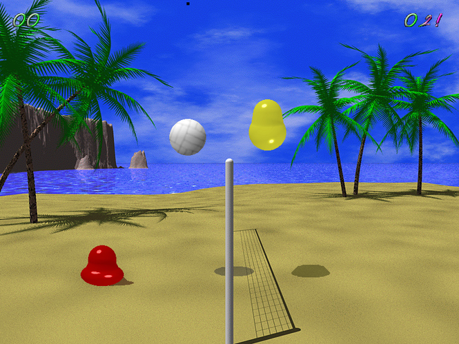Blobby Volley 2 Screenshot 1