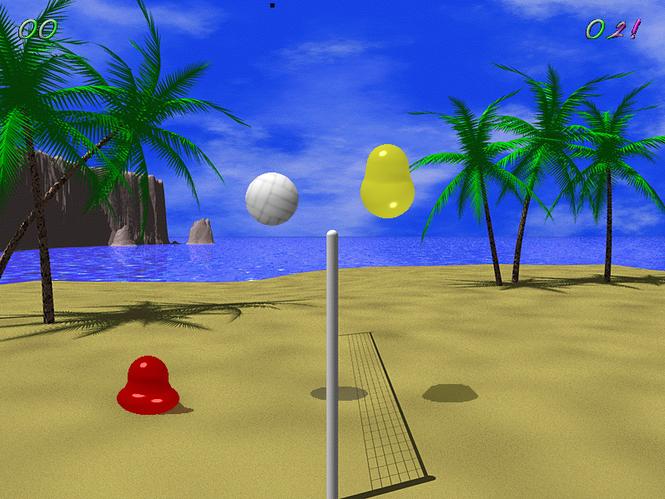 Blobby Volley 2 Screenshot