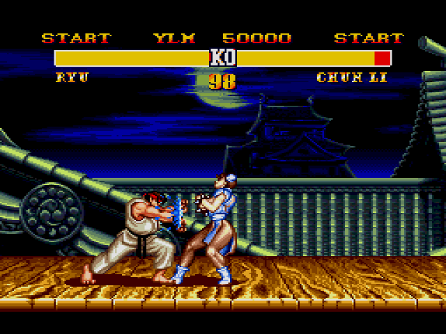 Street Fighter 2 Screenshot 1