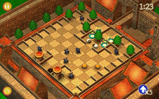 RunningSheep: Tiny Worlds Screenshot 2