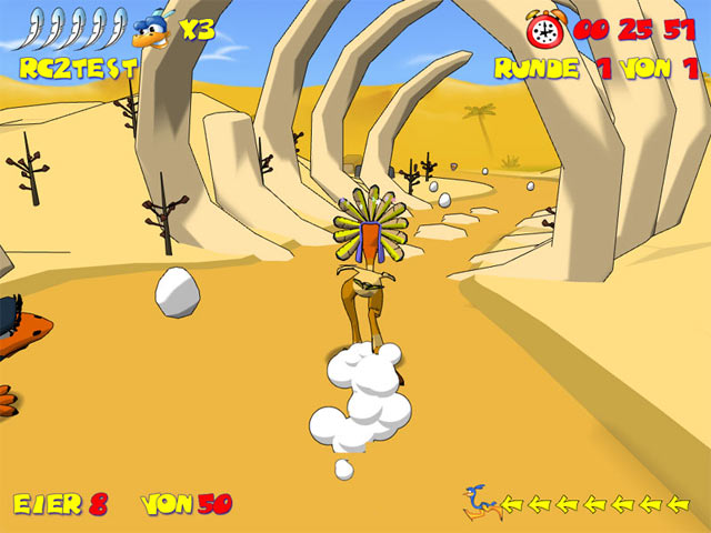 Ostrich Runners Screenshot