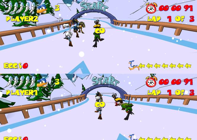 Ostrich Runners Screenshot 2