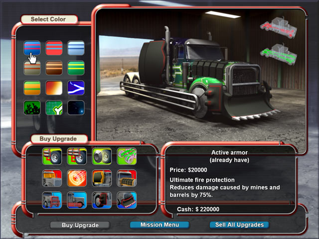 Mad Truckers Screenshot