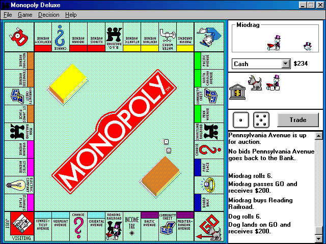 Monopoly Deluxe Screenshot 1