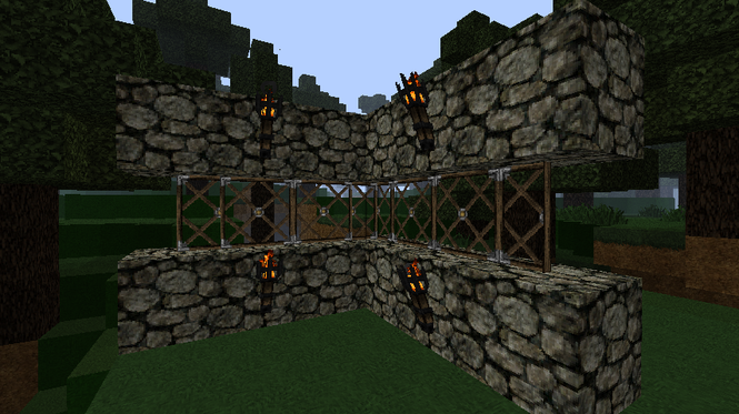 MiddleAges Mod for Minecraft 1.2.5 Screenshot 1