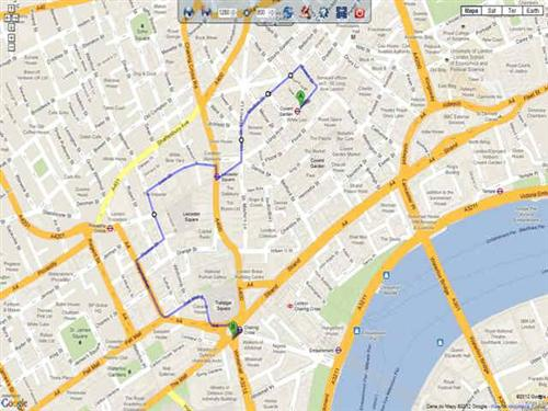 Google Maps Grabber Screenshot