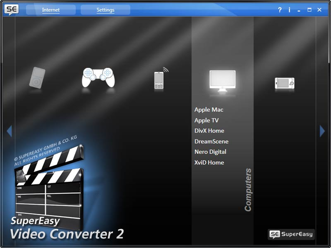 SuperEasy Video Converter 3 Screenshot