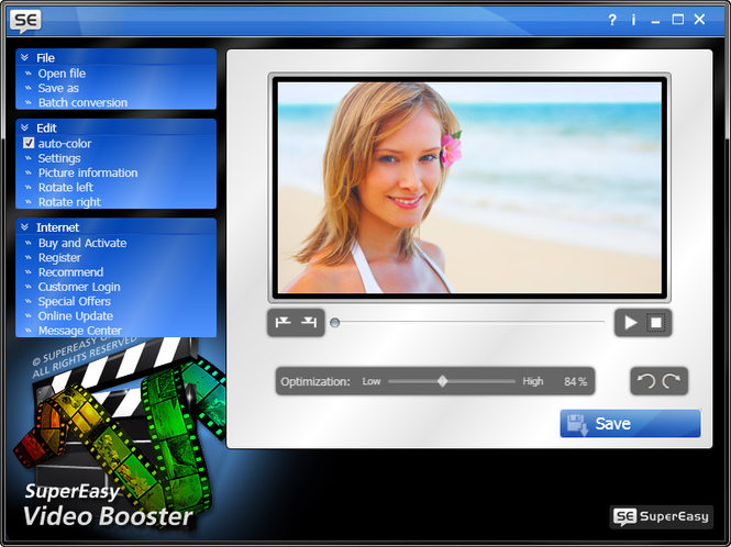 SuperEasy Video Booster Screenshot