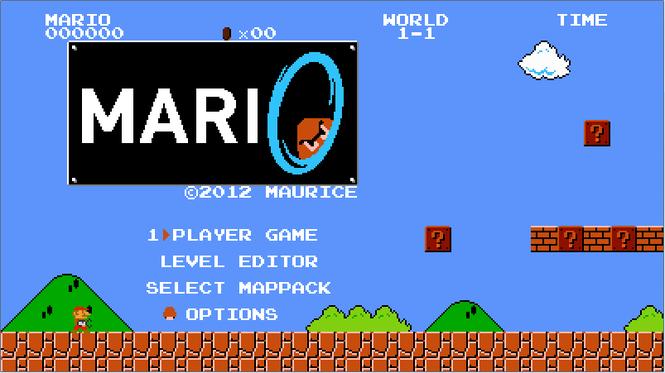 Mari0 Screenshot 2