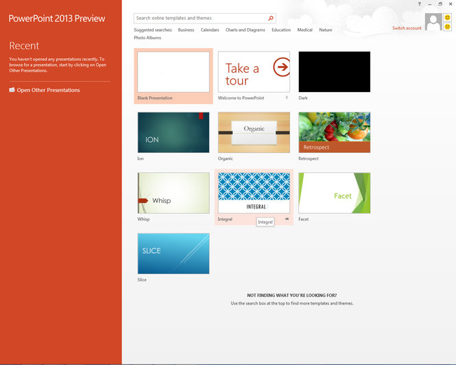 Microsoft Office 2013 Home Premium Preview Screenshot 4
