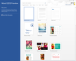 Microsoft Office 2013 Home Premium Preview 1
