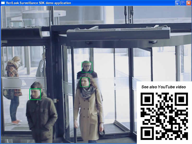 VeriLook Surveillance SDK Trial Screenshot