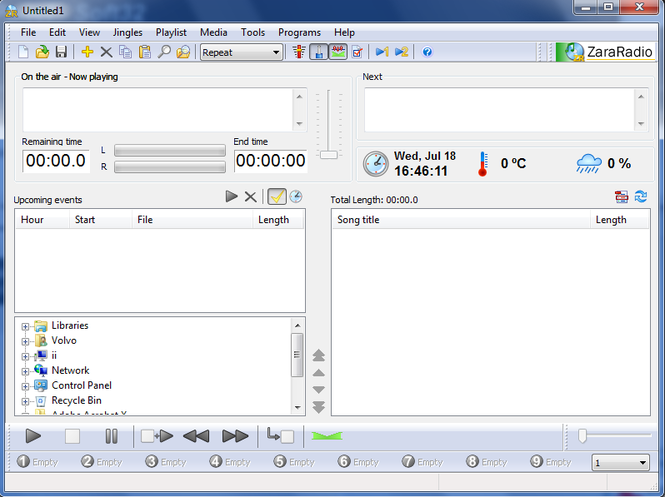 ZaraRadio Screenshot 1
