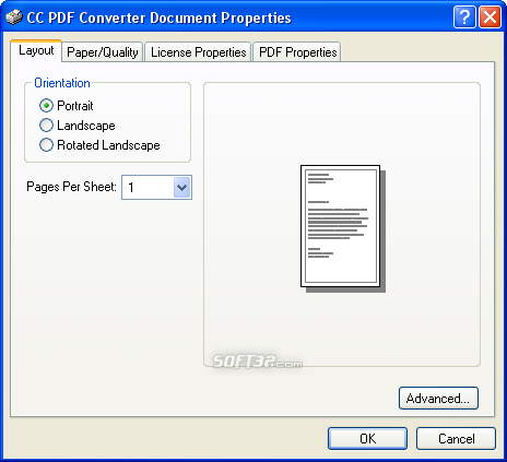 PDF Creator Screenshot 1