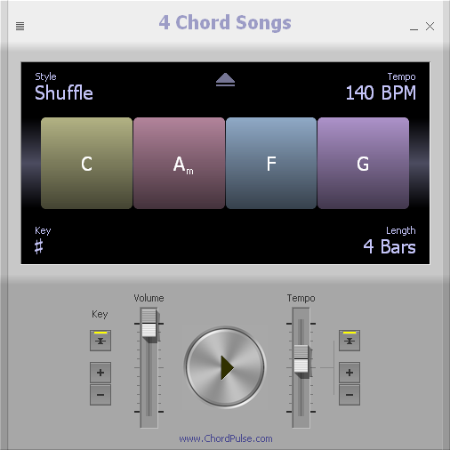 4 Chord Songs Screenshot 1