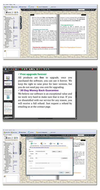 Page Flipping Office Pro Screenshot