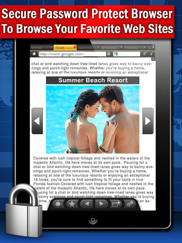 Best Secret Browser HD Pro Screenshot
