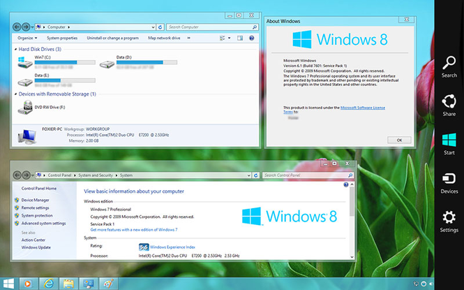 Windows 8 Transformation Pack Screenshot 1