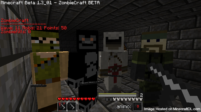 Zombiecraft Screenshot